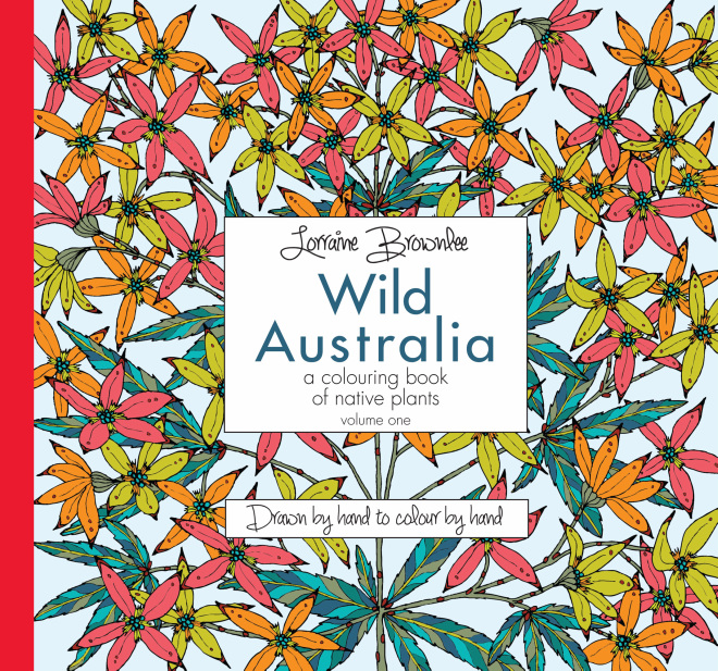 The First Volume Of Native Plant Designs By Australian Artist Lorraine Brownlee