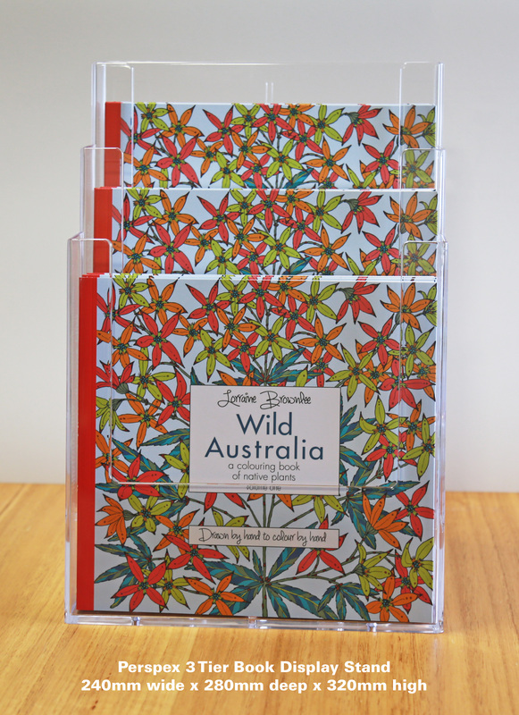 Wild Australia Adult Colouring Book Starter Pack Two Magnificent Book Display Stand Australia