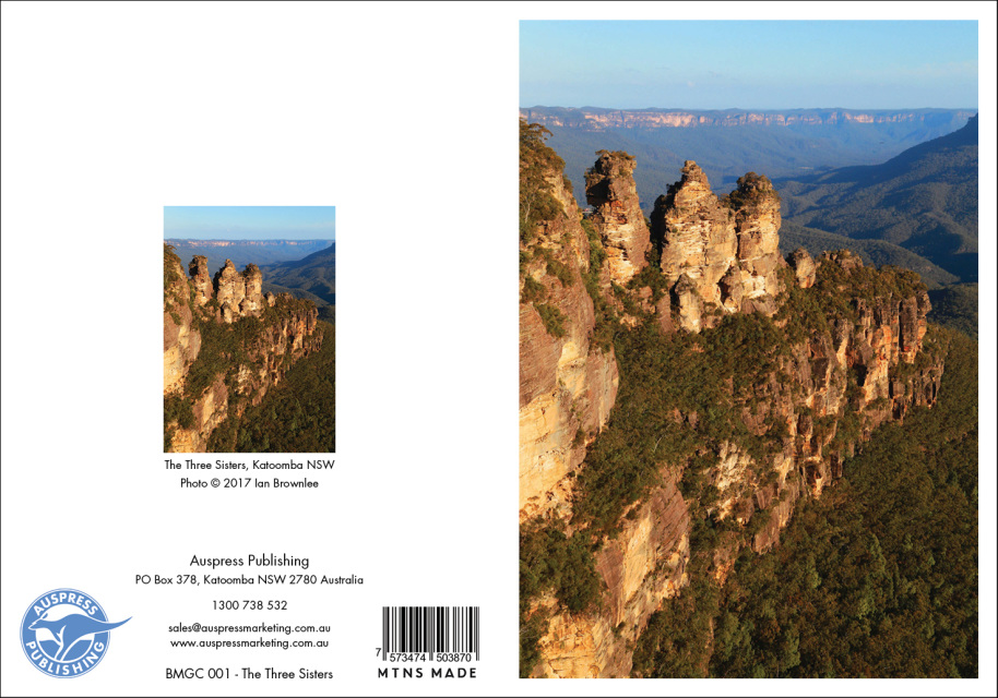 Blue mountains cards 125mm x 175mm m4hsunfo